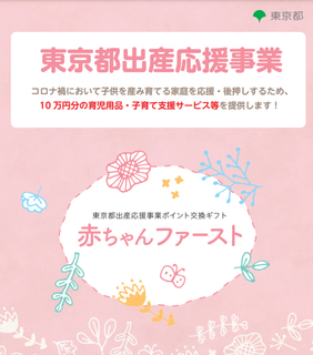 【東京都限定】令和3年1月~令和5年3月末誕生のあかちゃんに10万円相当-練馬のおすすめニュース編集室